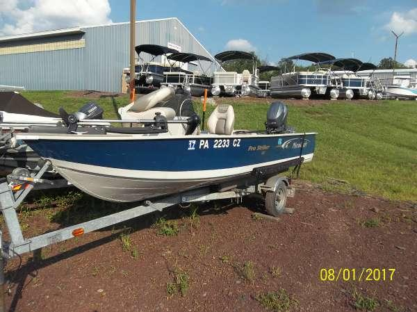 Used Mirrocraft STRIKER - 1567 Freshwater Fishing Boat For Sale