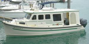 Used Rosborough Rf-246 Sedan Cruiser Pilothouse Boat For Sale