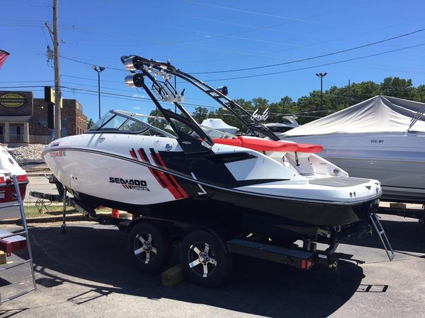 Used Sea Doo 21 Wakesetter Jet Boat For Sale