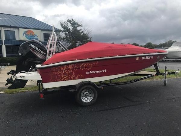 Used Bayliner Element E16 Deck Boat For Sale