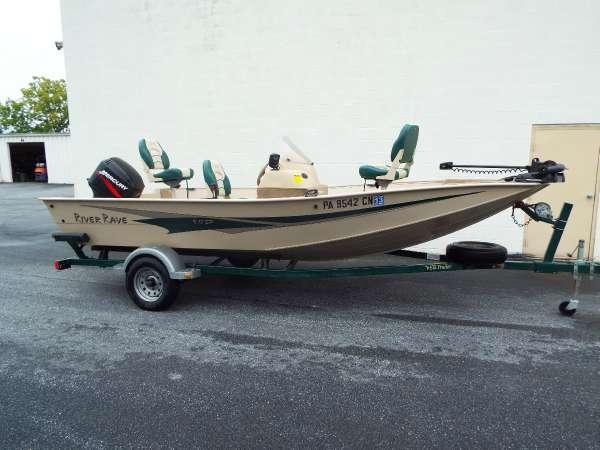 Used Odyssey River Rave V17SP Bass Boat For Sale