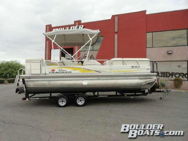 Used Sun Tracker Party Barge 22 IO Regency Edition Pontoon Boat For Sale