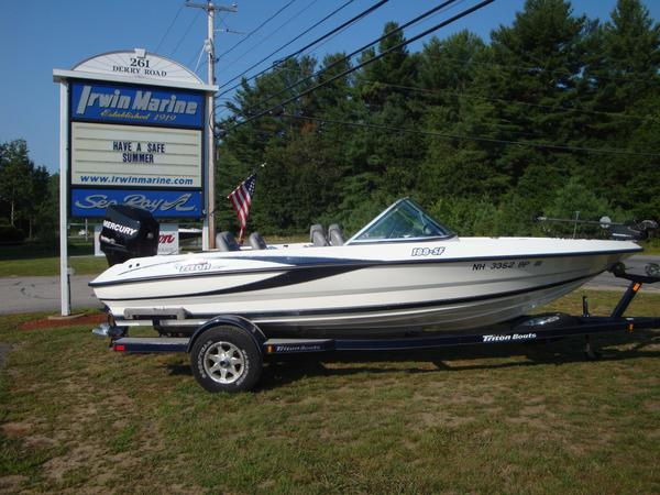 Used Triton SF 188 Freshwater Fishing Boat For Sale