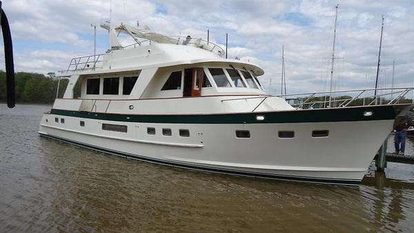 Used Grand Alaskan Flush Deck Motoryacht Pilothouse Boat For Sale