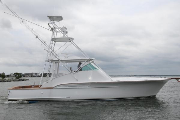 Used Buddy Davis Custom Carolina Express Sports Fishing Boat For Sale