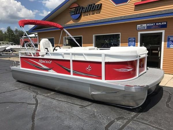 New Jc Tritoon Spirit 201 TT Sport Pontoon Boat For Sale