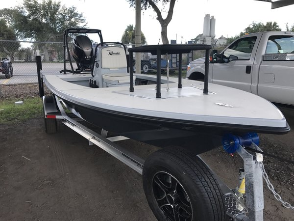 New Maverick 18 HPX-V Flats Fishing Boat For Sale