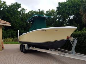 Used Ocean Runner Power Center Console Fishing Boat For Sale