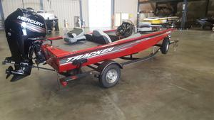 Used Tracker Pro Team 175 Aluminum Fishing Boat For Sale