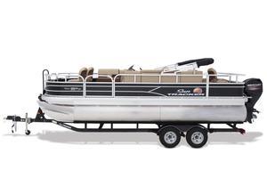 New Sun Tracker Fishin' Barge 20 DLX Pontoon Boat For Sale