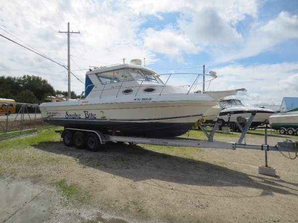 2002 used sportcraft 272 sf ht freshwater fishing boat for for Fishing boats for sale in ohio