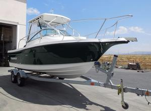 Used Trophy 2002 Walkaround Saltwater Fishing Boat For Sale