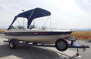 Used Galaxie Boat Works 1800 Ultra DB Deck Boat For Sale