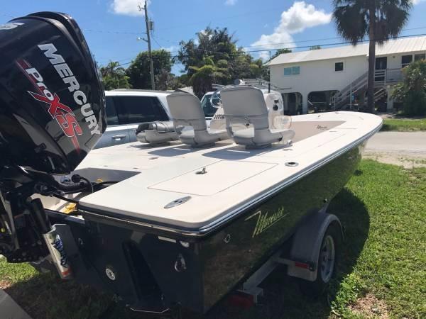 Used Maverick 21 Master Angler Flats Fishing Boat For Sale