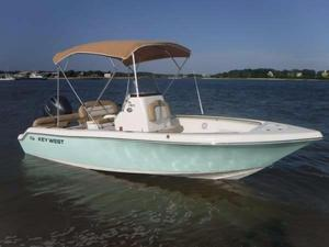 Used Key West 189 FS Saltwater Fishing Boat For Sale