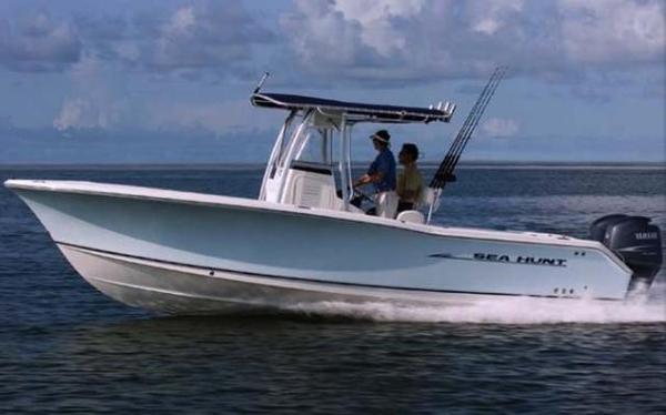 2007 used sea hunt triton 260triton 260 saltwater fishing for Saltwater fishing boats for sale