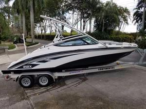 Used Yamaha 212X Ski and Fish Boat For Sale