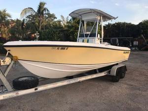 Used Blue Water 2150 Center Console Fishing Boat For Sale