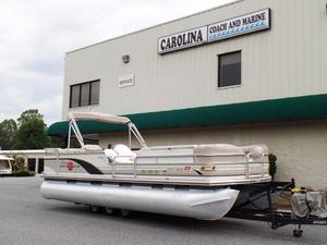 Used Sun Tracker PARTY BARGE 25 Regency Edition Pontoon Boat For Sale