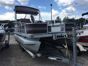 Used Fisher Freedom Pontoon Boat For Sale