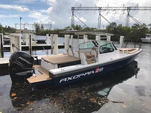 Used Axopar 28 TT-AC Bowrider Boat For Sale