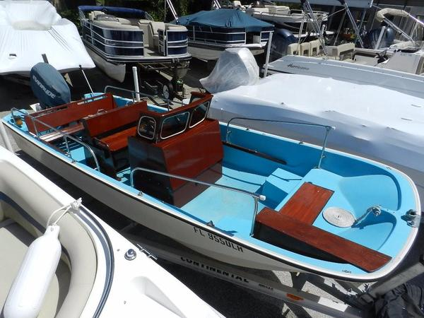 Used Boston Whaler 16 Nauset Center Console Fishing Boat For Sale
