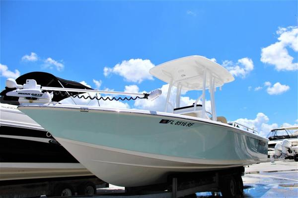 Used Sea Pro 228 Bay Sports Fishing Boat For Sale