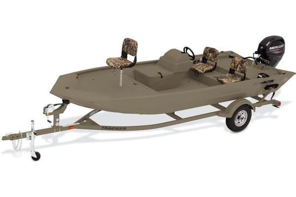 New Tracker Grizzly 1754 MVX SC Jon Boat For Sale