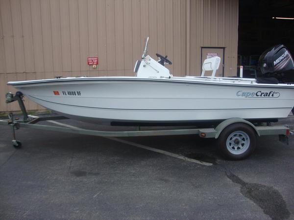 Used Cape Craft 180cc Center Console Fishing Boat For Sale