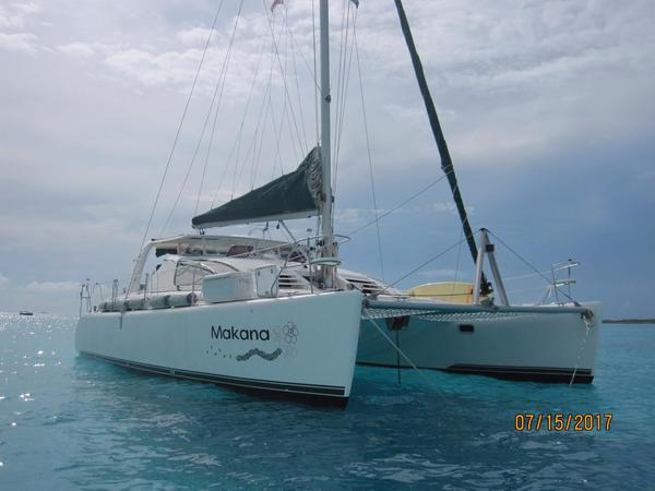 Used Admiral Sailing Catamaran 380 Executive/owner's Version Catamaran Sailboat For Sale