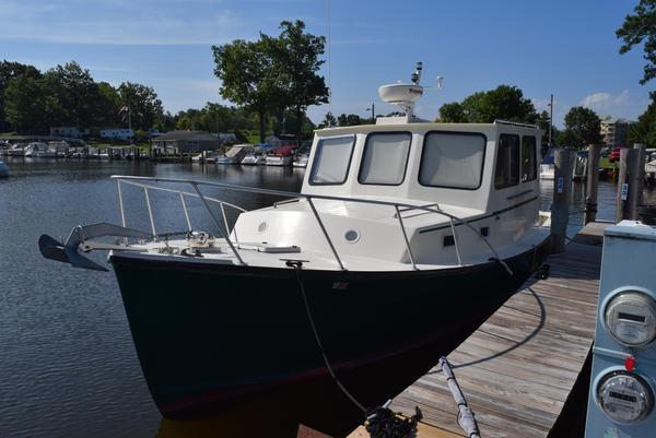 Used Bruno Stillman 35 Hardtop Cruiser Downeast Fishing Boat For Sale