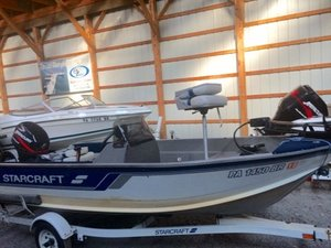Used Starcraft Superfisherman 140 Sports Fishing Boat For Sale