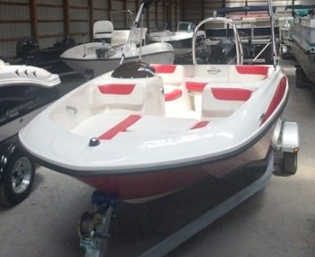 Used Bayliner Element Deck Boat For Sale