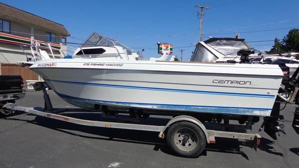 Used Campion 215 Fishing Machine Cuddy Cabin Boat For Sale