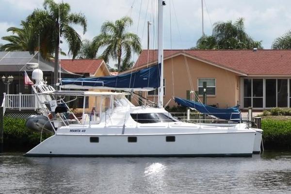 Used Manta 40 Sail Catamaran Sailboat For Sale