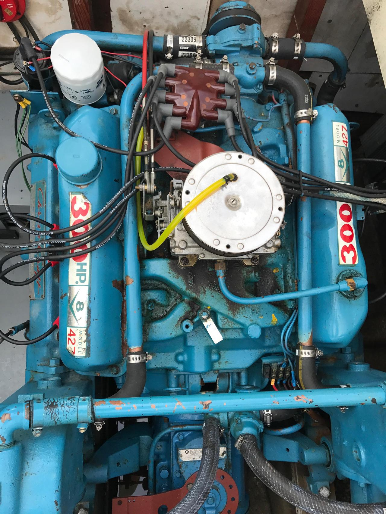 1973 Used Chris Craft 315 Commander Flybridge Boat For Sale Model A Engine Diagram