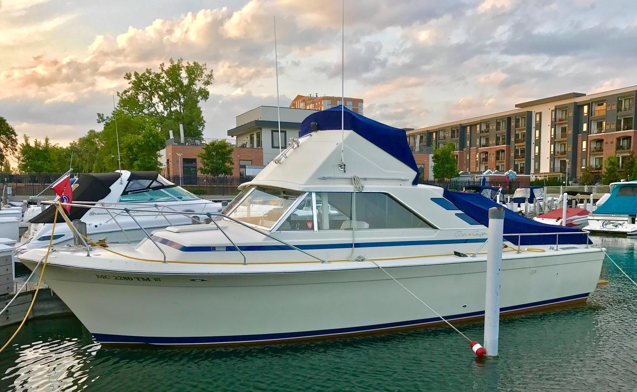 1973 used chris craft 315 commander flybridge boat for sale Sea Nymph Wiring Diagram