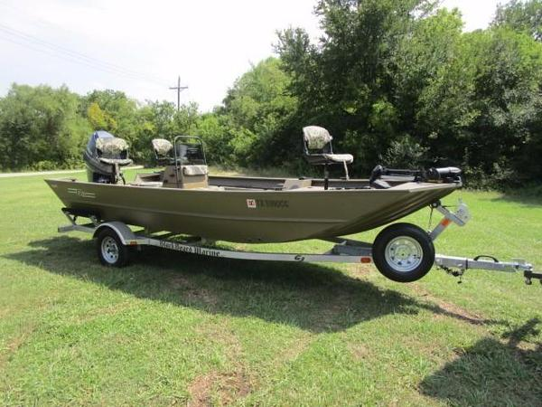 Used G3 1860 CC Utility Boat For Sale