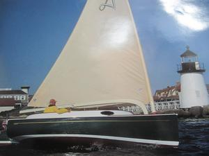 Used Alerion Cat Boat Sloop Sailboat For Sale