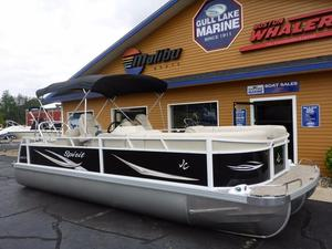 Used Jc Tritoon Spirit 245TT Sport Pontoon Boat For Sale