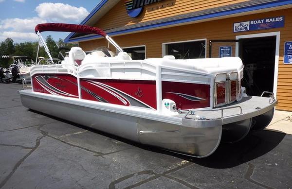 New Jc Tritoon SunLounger 25TT Sport Pontoon Boat For Sale