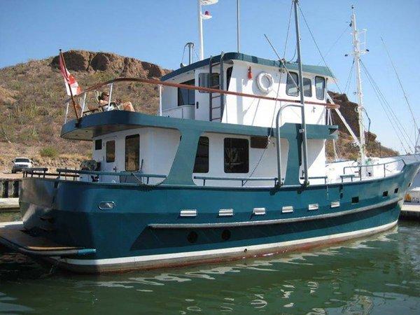 Used Custom North Sea Trawler Boat For Sale