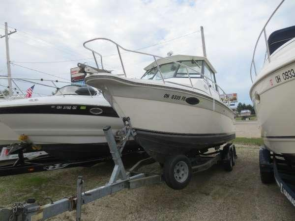 Used Baha Cruisers 251 HT Freshwater Fishing Boat For Sale