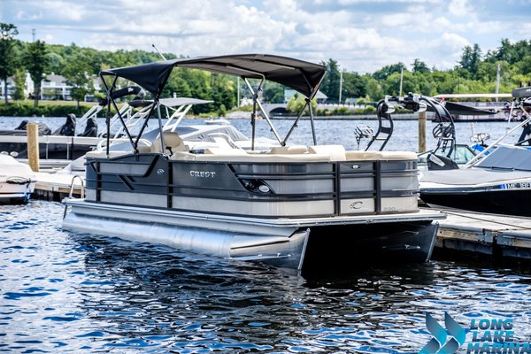New Crest Classic 230 SLClassic 230 SL Pontoon Boat For Sale