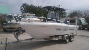 Used Triumph Boats 215 CC Center Console Fishing Boat For Sale
