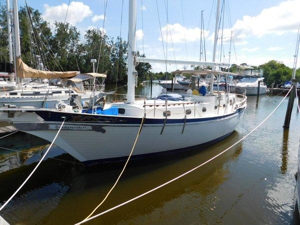 Used Marine Trader Island Trader 41 Ketch Sailboat For Sale