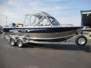 New Hewescraft 210 Sea Runner w/ET Aluminum Fishing Boat For Sale