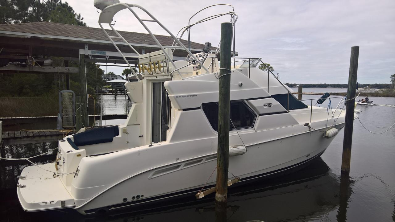 2001 used silverton 351 sedan cruiser351 sedan cruiser for Silverton motor yachts for sale