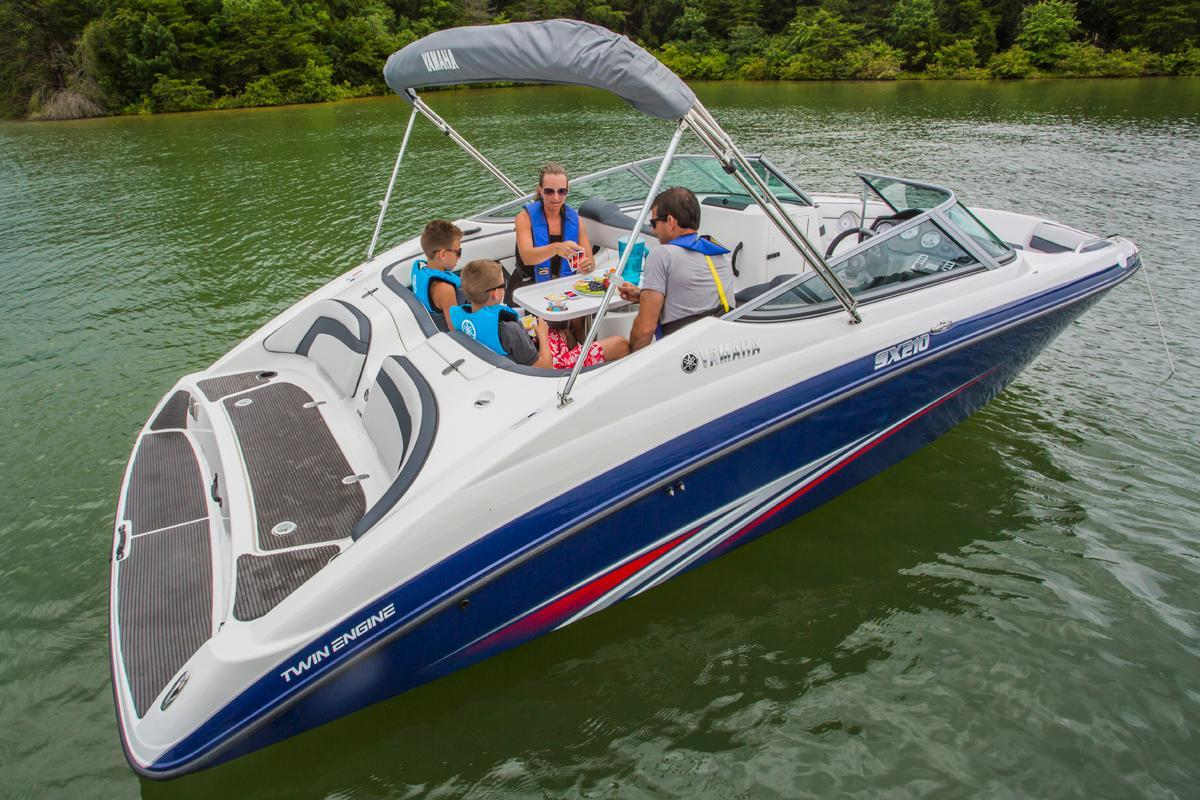 2015 used yamaha boats sx210sx210 bowrider boat for sale for Yamaha motor boats for sale