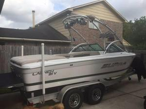 Used Supra Launch 21v Ski and Fish Boat For Sale